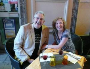 11 Jim and Julia Pre-Dinner Drinks