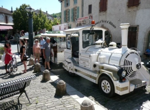 The Little Tourist Train at Cordes-sur-Ciel