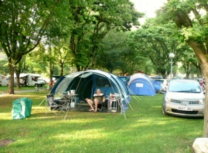 Our Pitch at the Pre Lombard Campsite