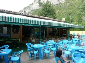 Café Area at Le Pre Lombard