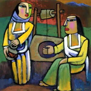 Jesus and the Samaritan Woman at Jacob's Well