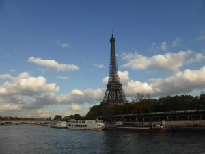 The Eiffel Tower from the River Seine