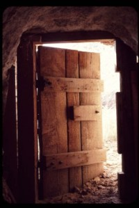 Stable Door in Bethlehem