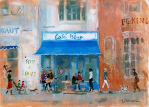 Café Blue, Weymouth